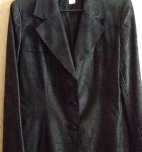 Женский пиджак замша