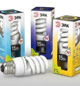Энергосберегающие лампы ЭРА, цоколь е27