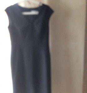 Чёрное платье р 38