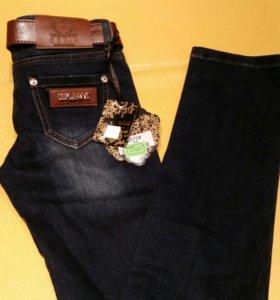 Новые джинсы, р-р 25, 28