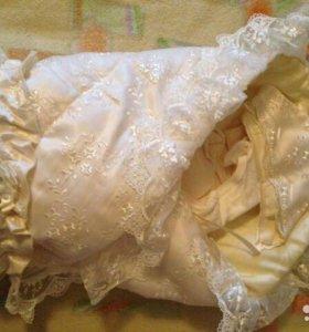 Одеяло конверт на выписку
