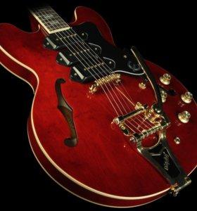 Полуакустическая гитара Epiphone Riviera P93