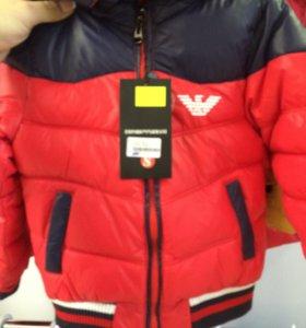 Куртка зима Armani