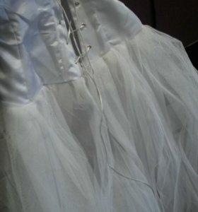 Подъюбник-корсет для свадебного платья