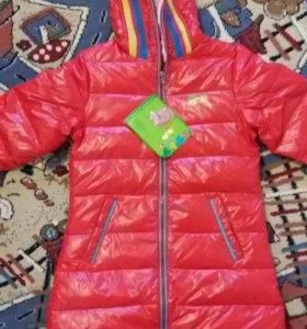 Новая куртка для девочки 10-12 лет