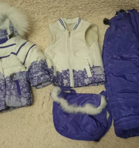 Зимний костюм(комбинезон)