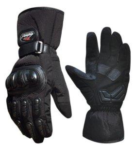 Перчатки MadBike теплые, для снегохода, сноуборда