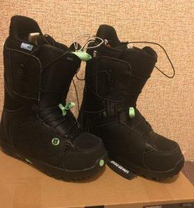 Ботинки для сноуборда BURTON 2015-2016 BLACK/MINT