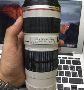 Обьектив canon zoom lens EF 70-200mm 1:4 L USM