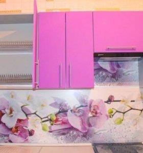 Кухонный фартук МДФ с фотопечатью SP-090, SP-061