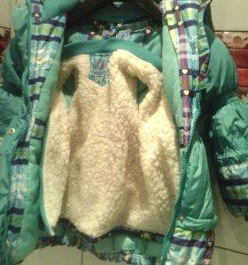 Зимняя куртка на рост 104 и 116