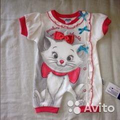 Одежда для ребенка 0-3мес.