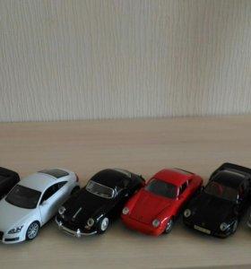 Модели автомобилей 1:24