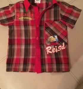 Рубашечка для мальчика 2-х лет