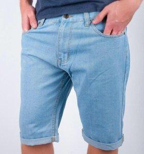 Шорты джинсовые до колена новые