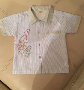 Рубашечка на мальчика 2-х лет