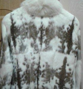 Куртка кролик 44 размер
