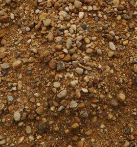 ПГС  –  обогащенная песчано–гравийная смесь