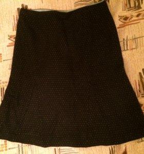Новая шерстяная юбка на подкладе 44-46 р