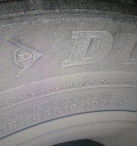 Зима 215-65-16 шипы Dunlop