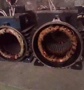 Ремонт электродвигателей.Новые под заказ.