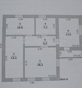 Продаётся дом в пгт. Октябрьский
