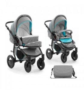 Тутис smart 2в1, серый-голубой, доставка