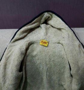 Очень теплая кофта,80 размер(12 месяцев)