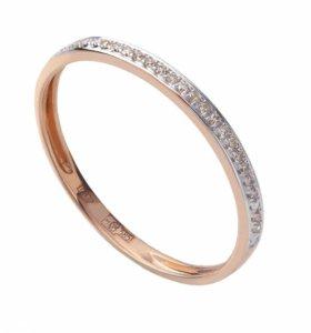 Золотое кольцо брилиантами