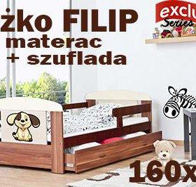 Кровать FILIP 160x80+ящик