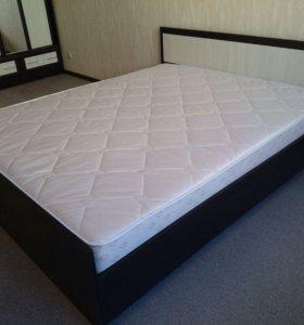 Новая Кровать Фиеста с матрасом.