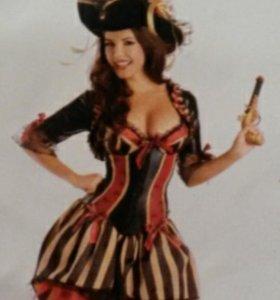 Костюм пиратки на хеллоуин