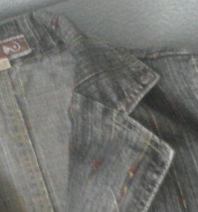 Пиджак джинсовый, турция