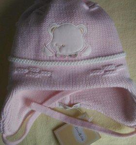 Новая теплая шапка 40-42 размер
