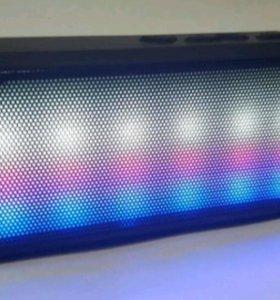 Светомузыкальная bluetooth колонка беспроводная