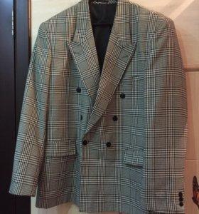 Винтажный мужской пиджак. Р. 54