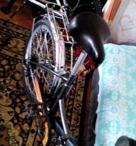 Продам складной дорожный велосипед 6 скоростей