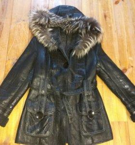 Дубленка.пальто 48
