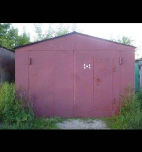 Продаётся металлический гараж