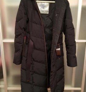 Пуховое пальто Reebok Classic размер 44