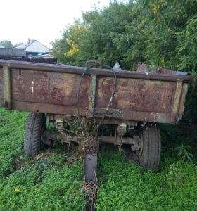 Телега на трактор