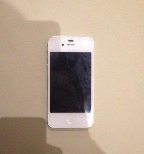 iPhone 4s 32GB+ 2 чехла