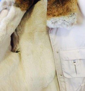 Куртка с подкладок кролика