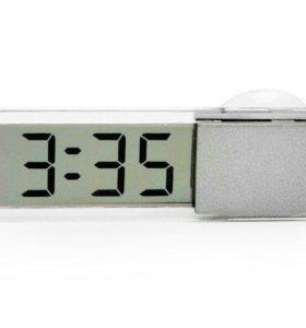 Прозрачные часы на окно или на стену уже в продаже