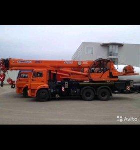 Автокран 16-25-32 тонны