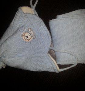 Детские шапки, рукавицы