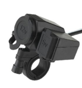 Прикуриватель, USB на мотоцикл квадроцикл снегоход