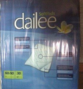 Одноразовые пеленки 60х90, в упаковке 30 шт.