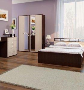 Новая Кровать Соломея с матрасом