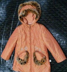 Детская куртка (пальто) рост 110